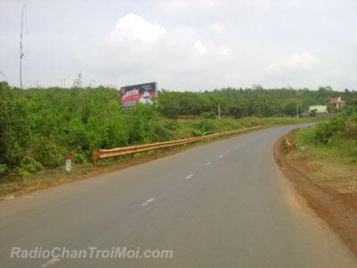 Tới địa phận Đắk Nông