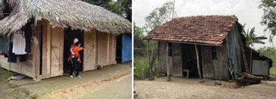 Nhà của một nông dân ở Hương Khê, Hà Tĩnh hay một ngôi nhà điển hình ở miền quê!