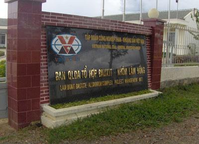Cơ quan chỉ đạo khai thác bauxite tại Bảo Lâm