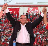 Ông Mauricio Funes, Liên minh FMLN