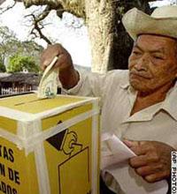 Bỏ phiếu trong cuộc bầu cử tổng thống El Salvador ngày 15 tháng 3 năm 2009