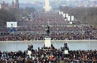 Gần 2 triệu người tham dự lễ nhậm chức Tổng Thống tại Washington DC