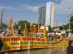 Cộng Đồng Người Việt Tự Do Hải Ngoại biểu tình trước trụ sở LHQ